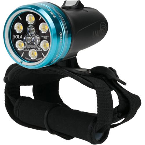 Light & Motion SOLA Dive 1200 S/F LED Light (Black/Blue)