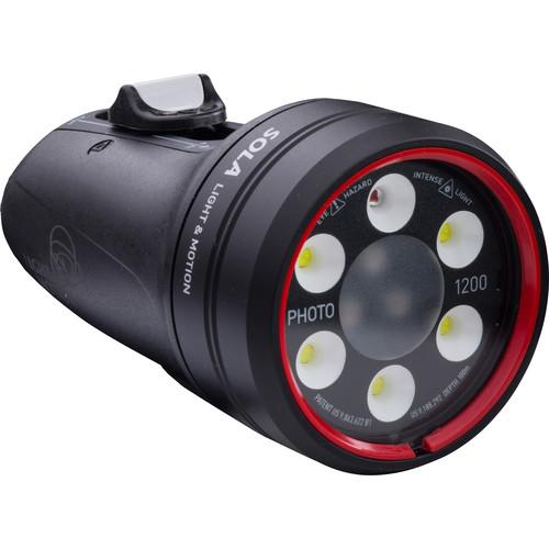 Light & Motion Sola Photo 1200 Red LED Dive Light (US)