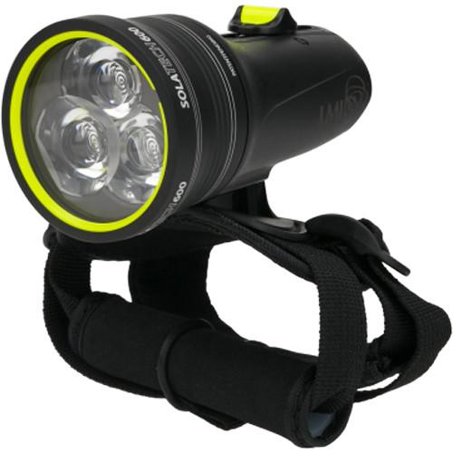 Light & Motion SOLA Tech 600 LED Dive Light (Black, US)
