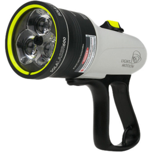 Light & Motion SOLA Dive Laser 600 FC LED Light (White)