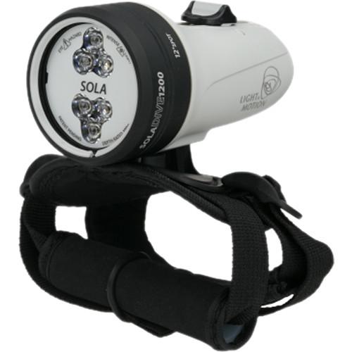 Light & Motion SOLA Dive 1200 Spot LED Light (White, US)