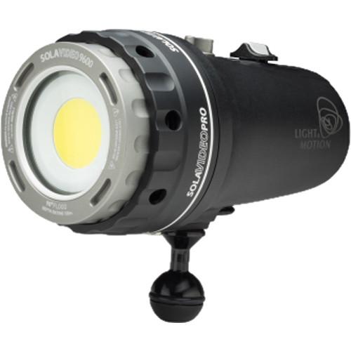 Light & Motion Sola Video Pro 9600 FC Dive Light