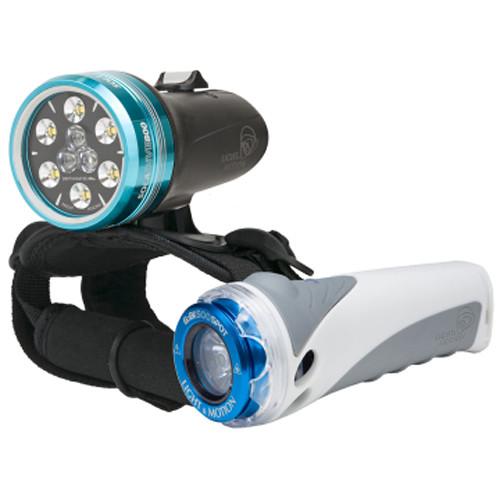 Light & Motion SOLA Dive 800 S/F and GoBe S 500 Spot LED Light Combo Kit