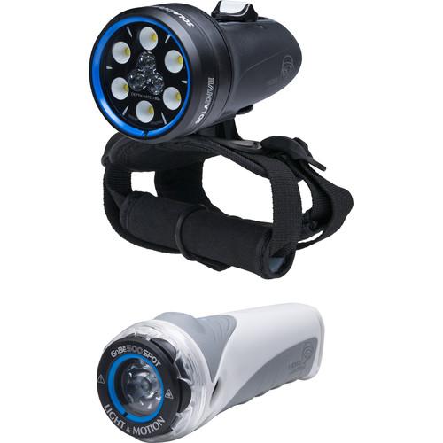 Light & Motion Sola Dive 1200 Combo Kit (Includes GoBe S 500 Spot)