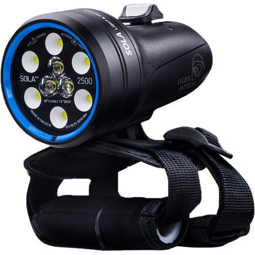 Light & Motion Sola Dive 2500 S/F Rehargeable Dive Light