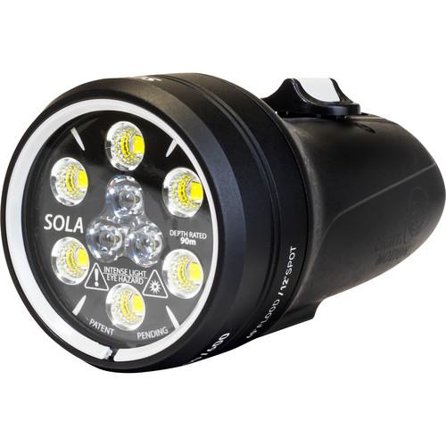 Light & Motion SOLA Video 2000 S/F LED Dive Light