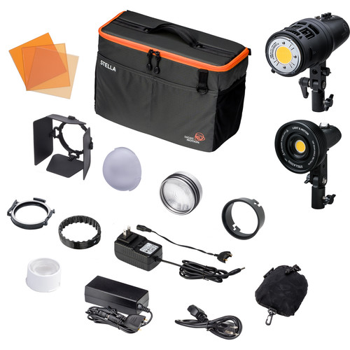 Light & Motion Stella CL 2000 / CLx8 2-Light Portrait Kit