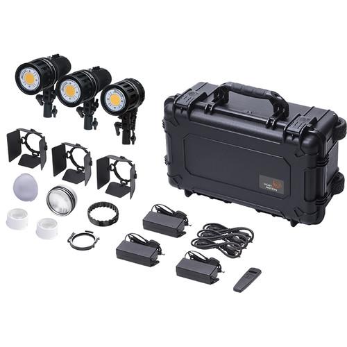 Light & Motion Stella CL 10000C/ 2x CL 8000 RF 3-Light Corporate Imaging Kit