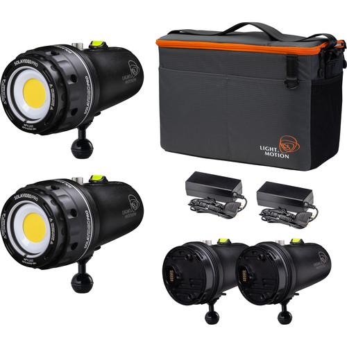 Light & Motion Double Dive 15K 2-Light Kit