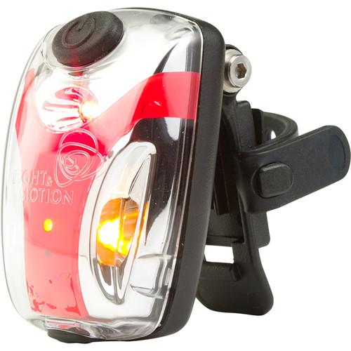 Light & Motion VIS 180 Micro LED Bike Tail Light (Silver Moon)