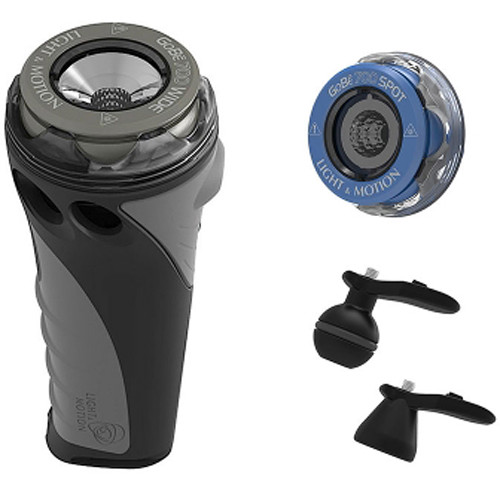 Light & Motion GoBe+ Video Kit with Dive Light Body and 700 Wide and Spot Heads