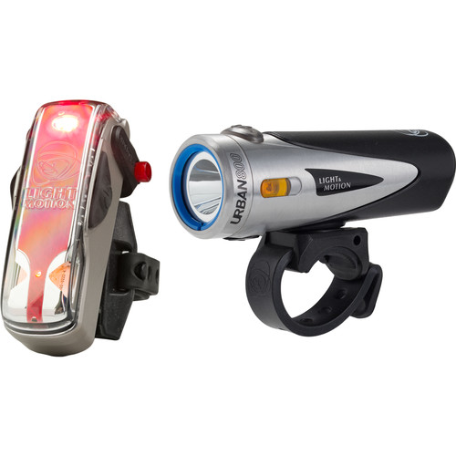 Light & Motion Urban 800 Commuter Combo LED Bike Light Set (Anchor Steam)