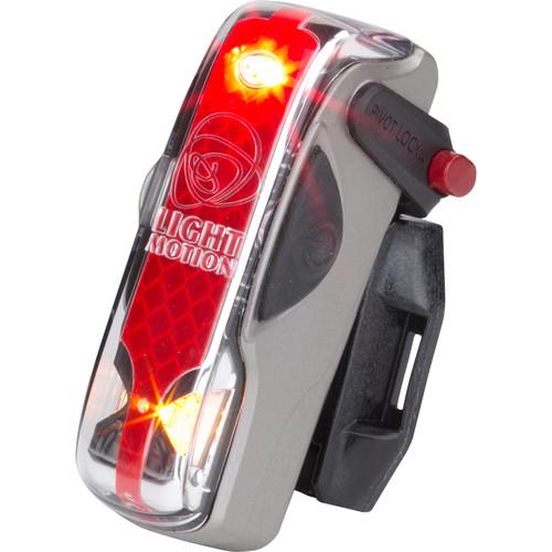 Light & Motion VIS 180 LED Bike Tail Light (Silver Moon)