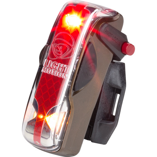 Light & Motion VIS 180 LED Bike Tail Light (Brown Shugga)
