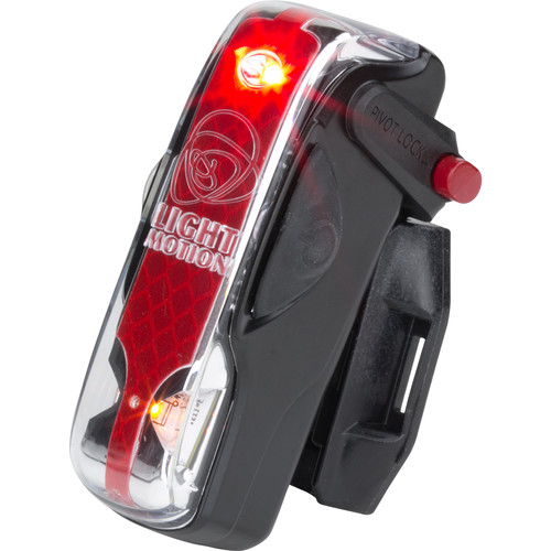 Light & Motion VIS 180 LED Bike Tail Light (Black Raven)