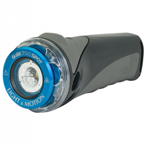 Light & Motion GoBe S 700 Spot Waterproof Flashlight (Blue)