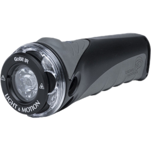 Light & Motion GoBe IR Waterproof LED Flashlight (Black/Charcoal)