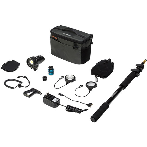 Light & Motion Stella 1000 SP LED 1-Light Action Kit with Accessories