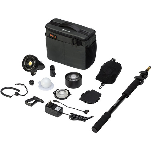 Light & Motion Stella 2000 SP LED 1-Light Action Kit with Accessories