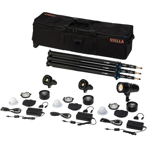Light & Motion Stella Pro 225 RF 3-Light Kit