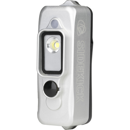 Light & Motion Sidekick Flood LED Light for GoPro (Silver)