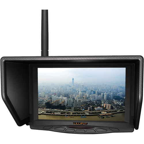 "Lilliput 329/W 7"" Wireless FPV Monitor with Single 5.8 GHz Receiver"