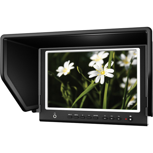 """Lilliput 664/O/P 7"""" On-Camera Monitor with HDMI Input/Output & Display Tools"""
