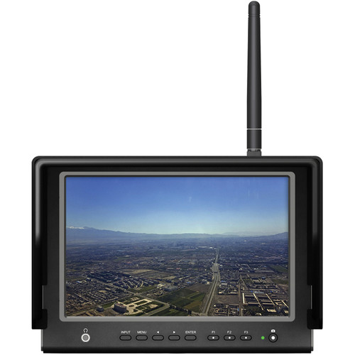 "Lilliput Electronics 664/W 7"" FPV Monitor with 5.8 GHz Wireless Receiver"