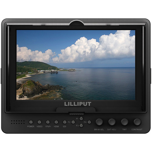 "Lilliput 665/S/P 7"" On-Camera HDMI/SDI Monitor"