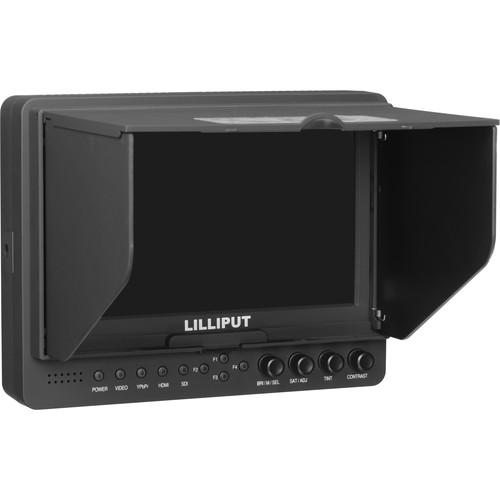 Lilliput 665/O/P Peaking Focus Video Monitor