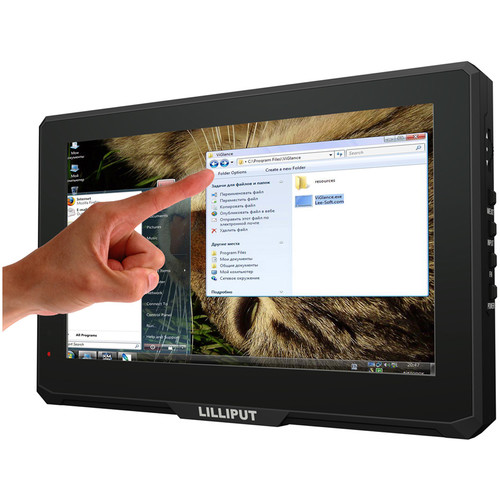 "Lilliput 779GL-70NP/C/T 7"" HDMI Monitor with 10-Point Capacitive Touch Function"