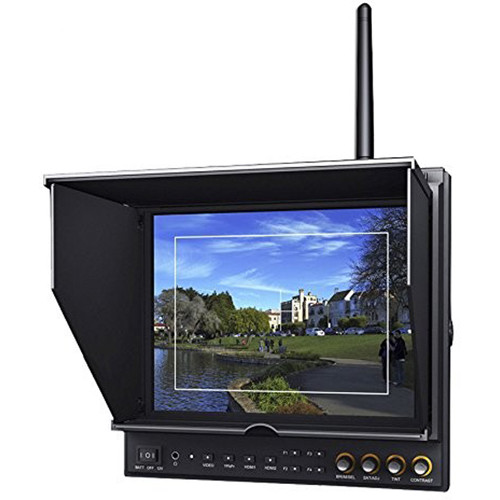 """LILLIPUT 969A/O/P/W 9.7"""" FPV Monitor with 5.8 GHz Wireless Receiver"""