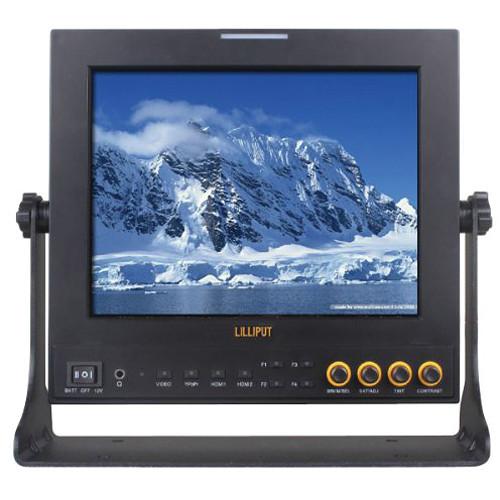 """LILLIPUT 969A/S 9.7"""" LED-Backlit HD Broadcast Monitor"""