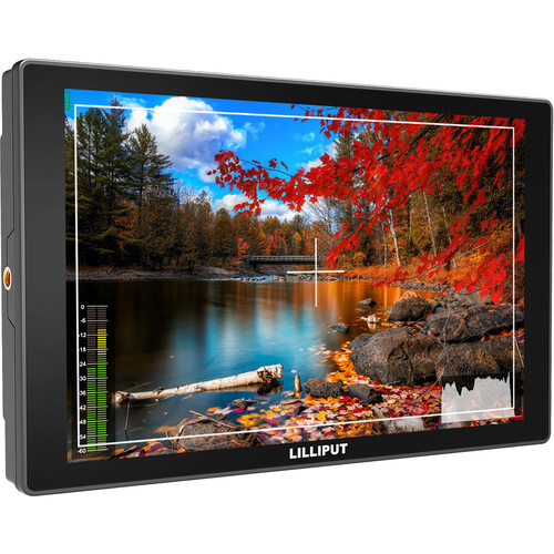 """Lilliput 10.1"""" A11 4K HDMI & 3G-SDI Monitor with L-Series Battery Plate"""