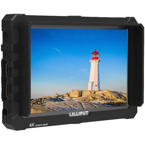 "Lilliput A7S 7"" Full HD Monitor with 4K Support (Black Case)"