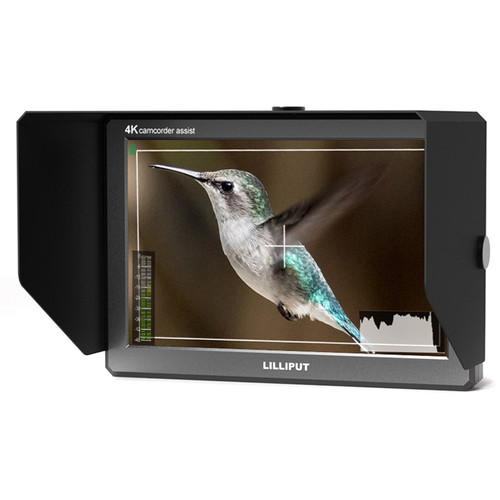 "Lilliput A8S 4K 8.9"" On-Camera HDMI and 3G-SDI Monitor"