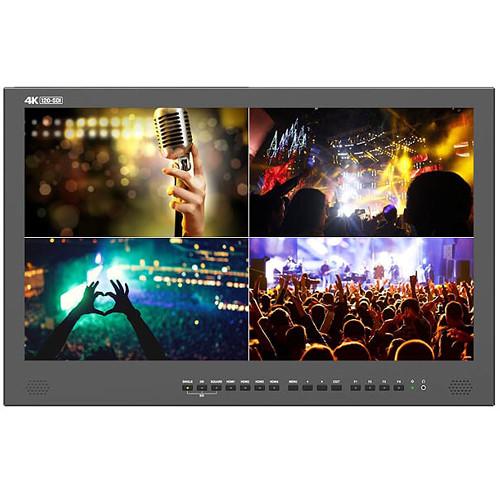 """Lilliput ABM230-12G-ABBP 23.8"""" 12G-SDI 4K Broadcast Monitor"""