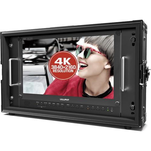 """Lilliput BM150-12G-ABBP 15.6"""" 12G-SDI 4K Broadcast Monitor"""