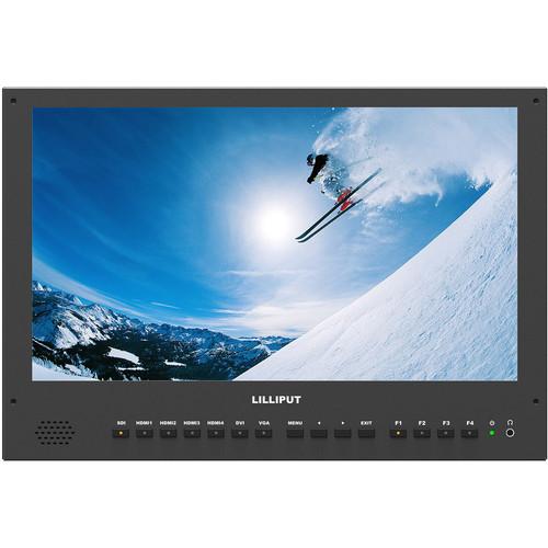 Lilliput BM150-6G Carry-On 4K Monitor (GoldMount)