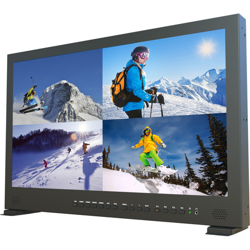 Lilliput BM230-4KS Carry-On 4K Broadcast Monitor (Gold Mount)