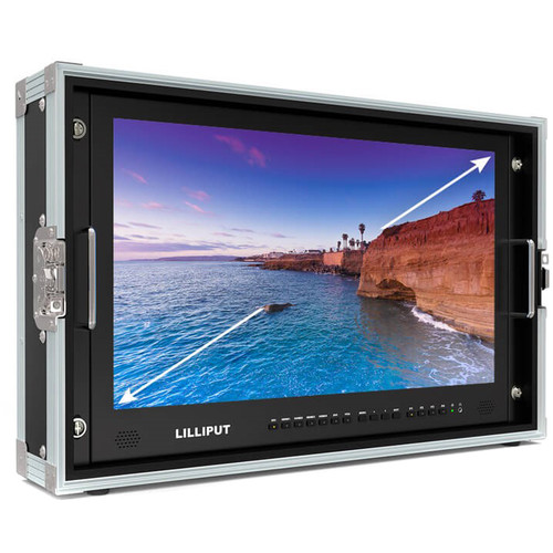 Lilliput BM230-6G Carry-On 4K Monitor (V-Mount)