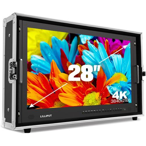 Lilliput BM280-4K Carry-On 4K Monitor (GoldMount)