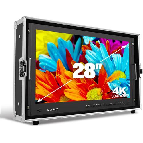 "Lilliput BM280-6G 28"" 6G-SDI 4K Broadcast Director Monitor"