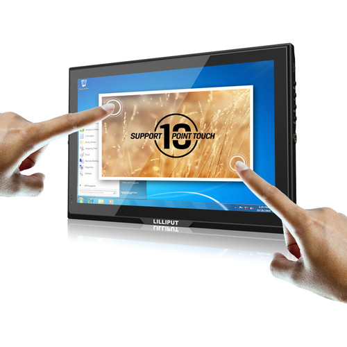 "Lilliput FA1014-NP/C/T 10.1""-Class Touchscreen IPS LED Display"