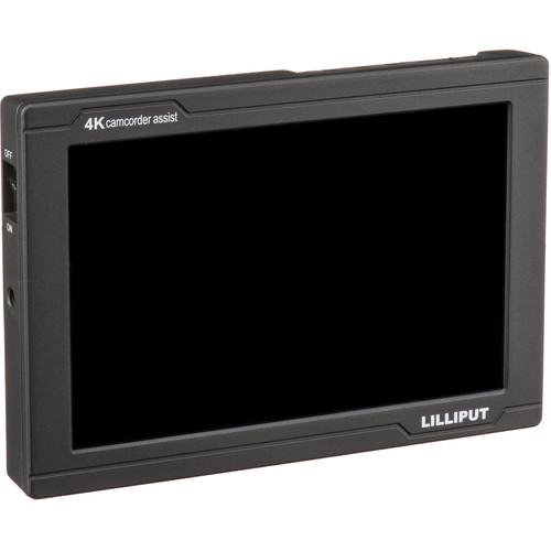 "Lilliput FS7 7"" 4K HDMI/3G-SDI Monitor with L-Series Type Plate"