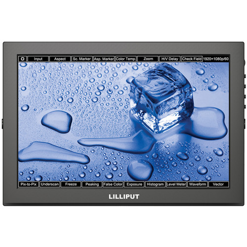 "Lilliput TM-1018/O/P 10.1"" Touchscreen LED Backlit Camera Monitor"