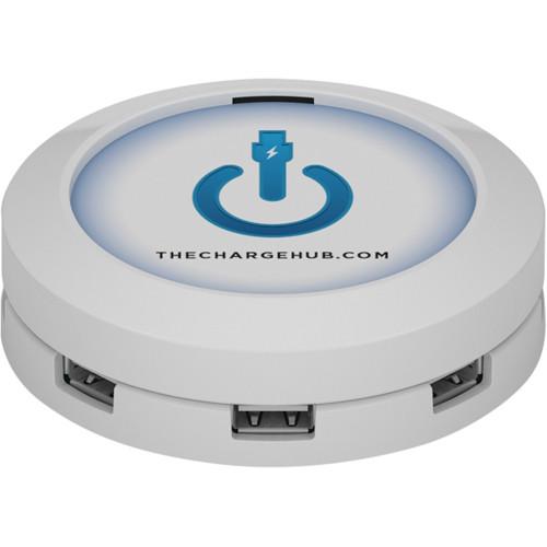 ChargeHub ChargeHub 7-Port USB Universal Charging Station (Round & White)