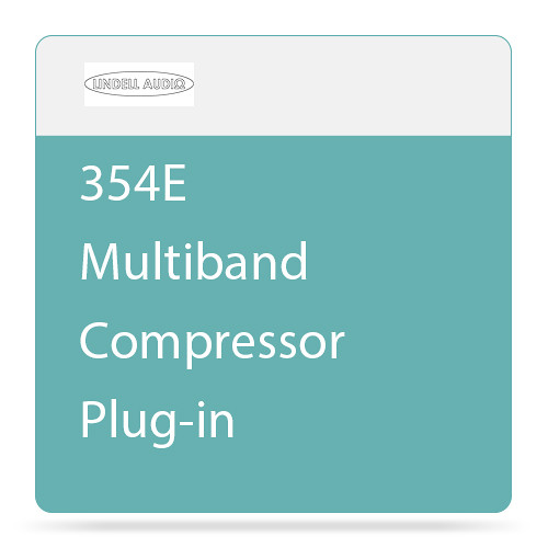 Lindell Audio 354E - Multiband Compressor Plug-In (Native, Download)