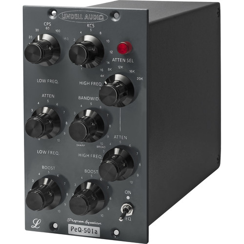 Lindell Audio PeQ-501a Retro 500 Series 2-Band Equalizer