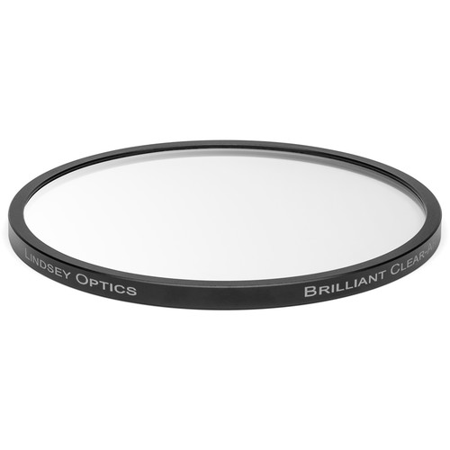Lindsey Optics 138mm Round Brilliant Clear Filter with Anti-Reflection Coating